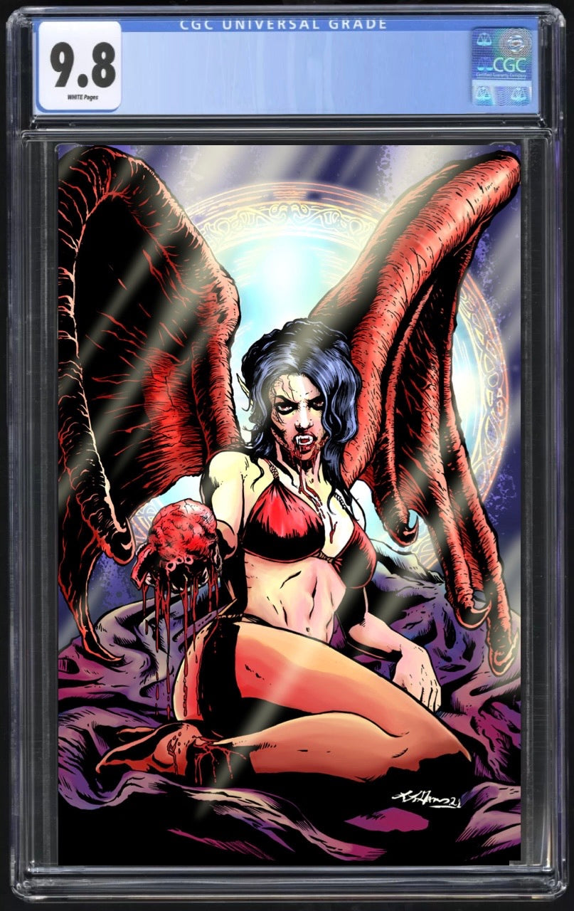 Cult of Dracula #1 Garner Metal CGC 9.8