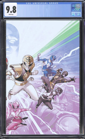 Mighty Morphin Power Rangers 50 Foil Wraparound CGC 9.8