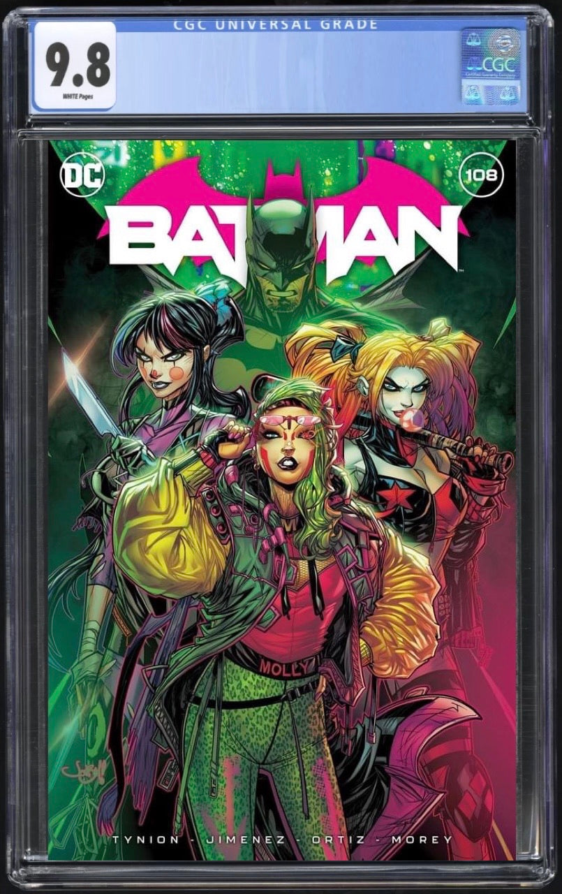 Batman 108 Jonboy Myers Trade CGC 9.8