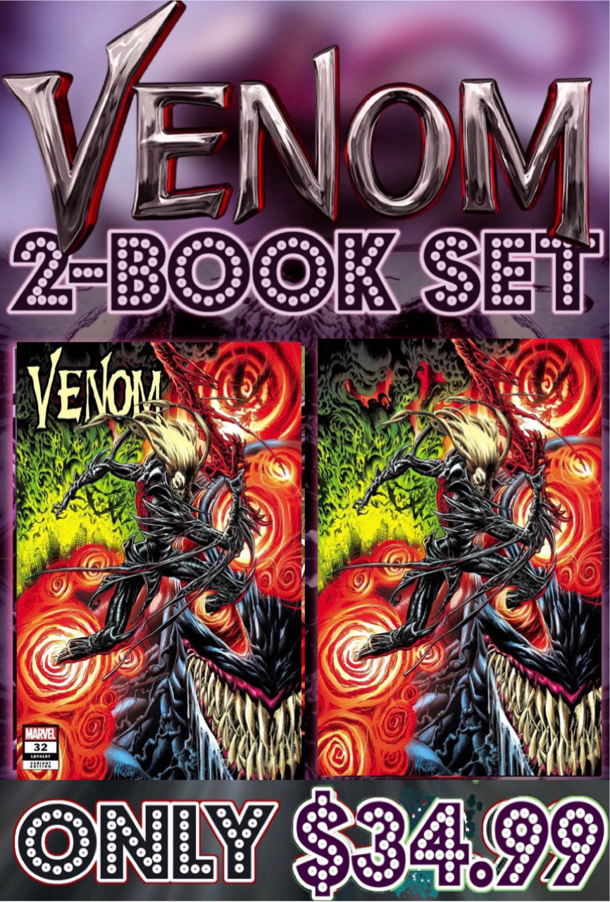 Venom 32 Kyle Hotz 2 Book Set