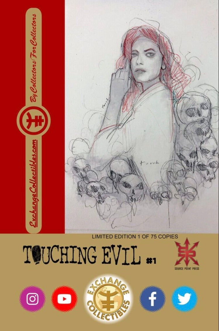 Touching Evil #1 Orzu Virgin CGC 9.8