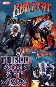 Black Cat Ryan Brown Trade 3 Book Set