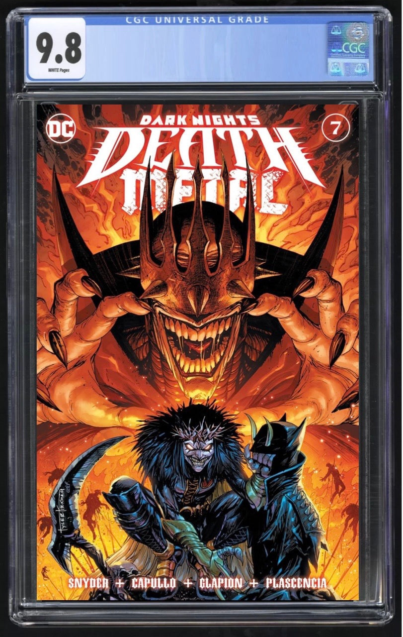 Death Metal 7 Kirkham Trade Dress CGC 9.8