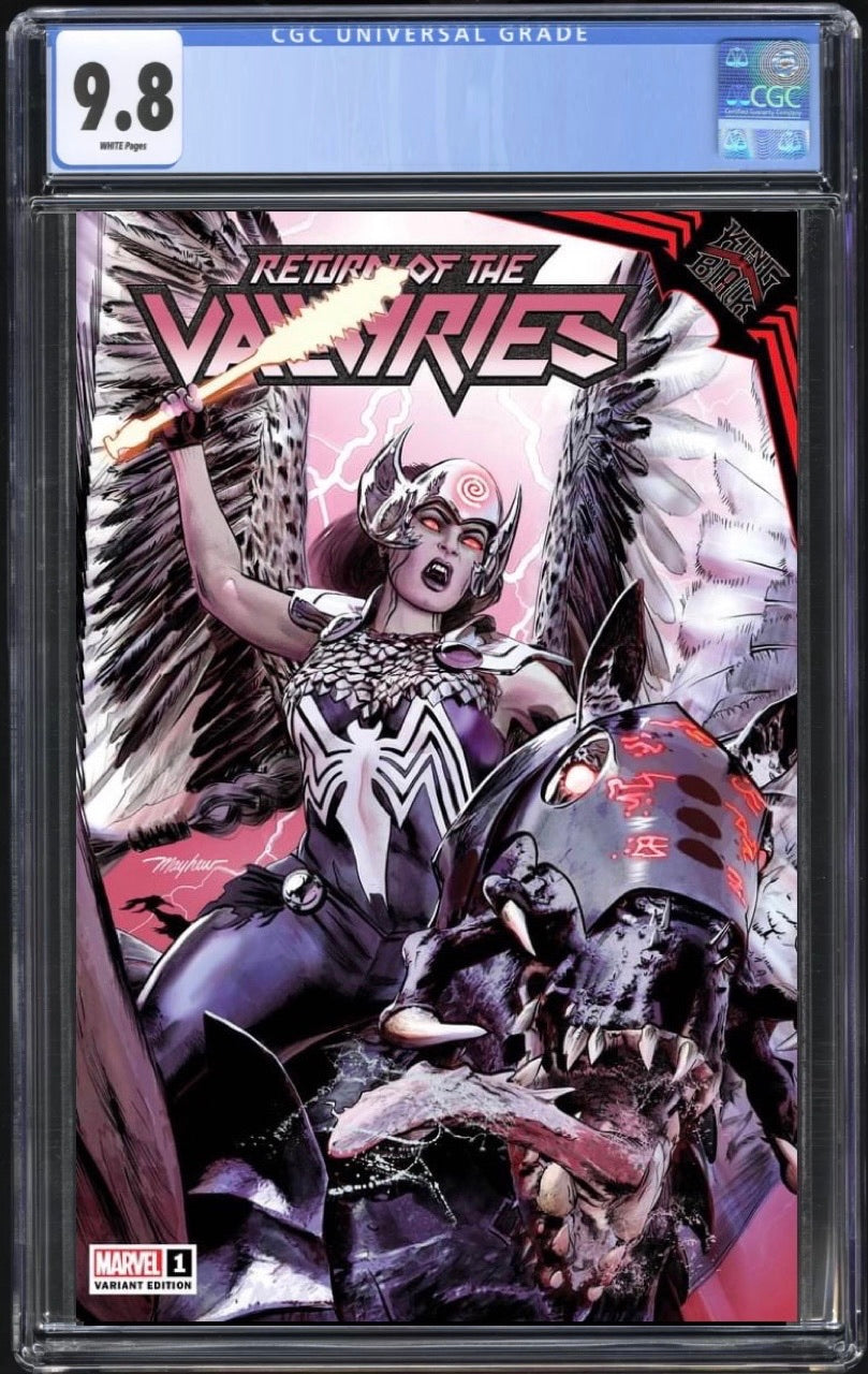 Return of the Valkyries #1 Mayhew Trade Dress CGC 9.8