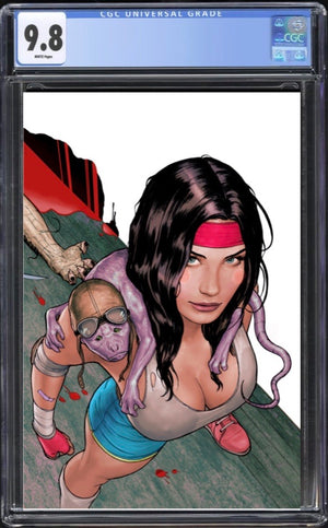 Machine Girl #1 Virgin CGC 9.8