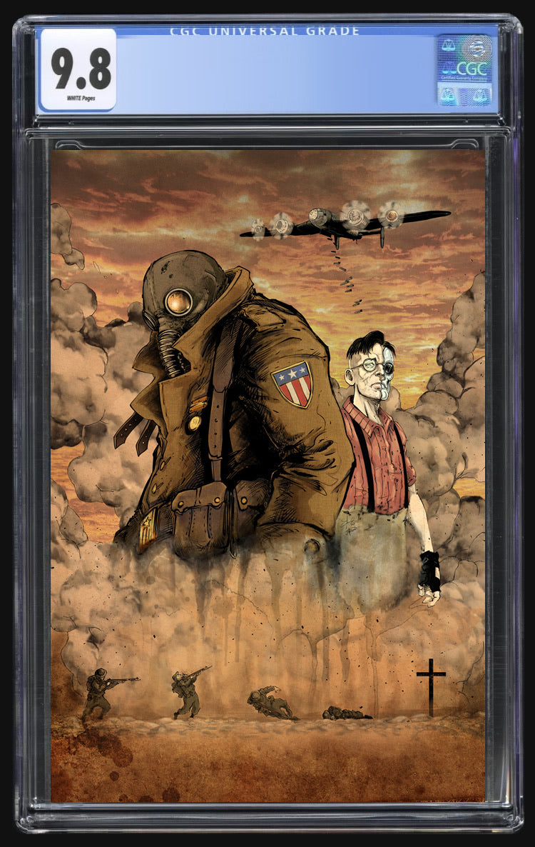 Broken Gargoyles #1 Stan Yak Virgin CGC 9.8