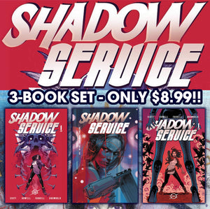 Shadow Service #1 3 Book Set