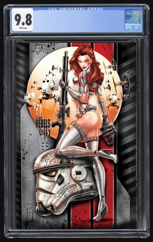 White Widow May the 4th Storm Trooper Metal CGC 9.8