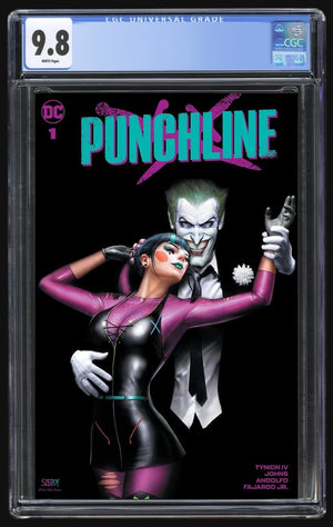 Punchline Special #1 Nathan Szerdy Trade CGC 9.8