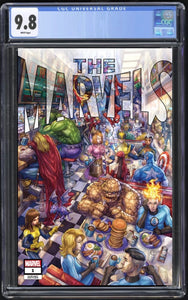 The Marvels #1 Alan Quah Trade Dress CGC 9.8