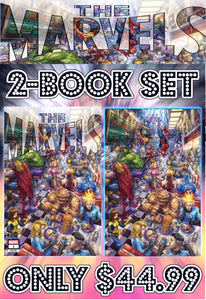 The Marvels #1 Alan Quah Two Book Set