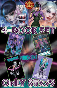 Punchline Special #1 4 Book Set Cover A's