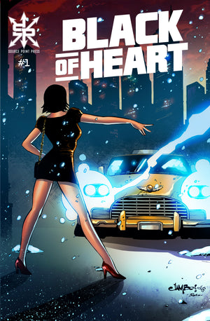 Black of Heart #1 Jimbo Salgado Trade