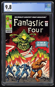 Fantastic Four Antithesis #2 Zircher Trade CGC 9.8