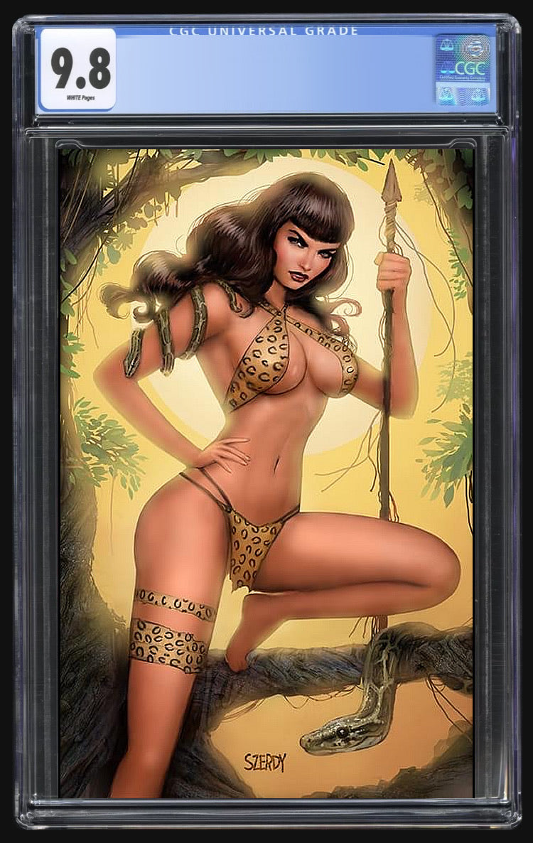 Bettie Page #1 Szerdy Virgin CGC 9.8