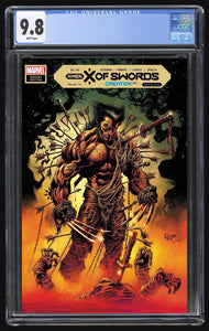X of Swords Creation 1 Hotz Trade CGC 9.