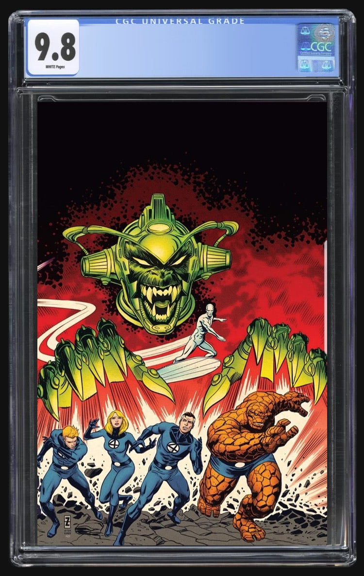 Fantastic Four Antithesis #2 Zircher Virgin CGC 9.8