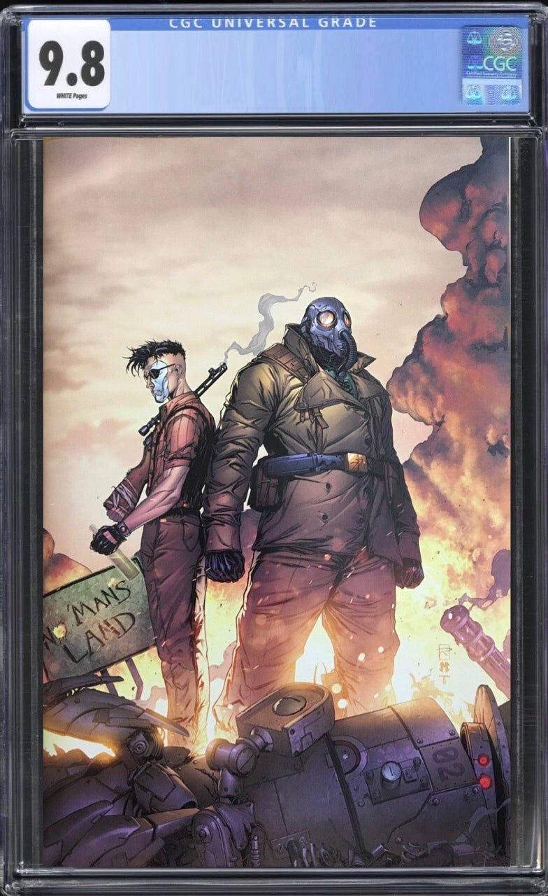 Broken Gargoyles #1 Virgin CGC 9.8