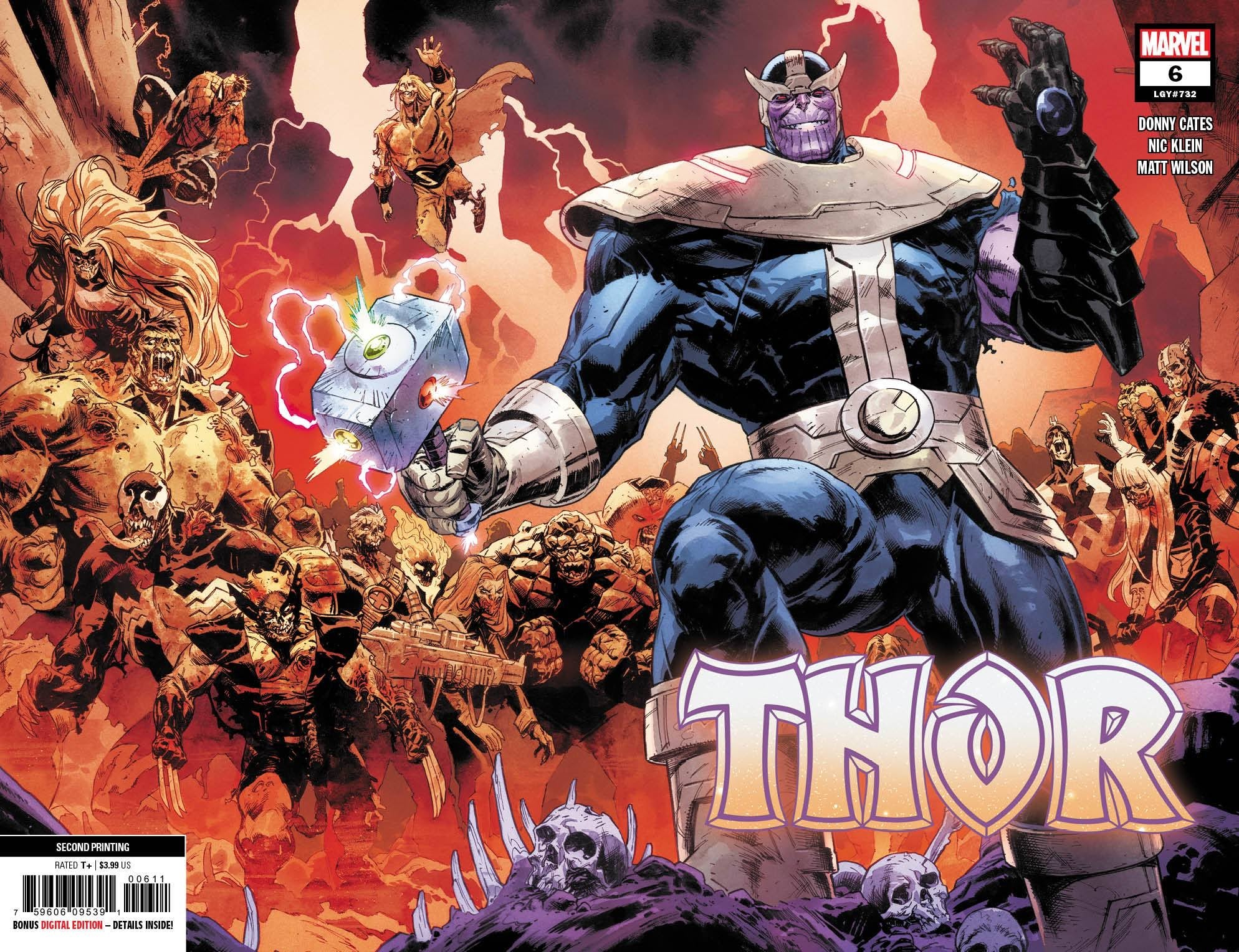 Thor 6 2nd Print 2 Book Set Virgin & Trade Dress