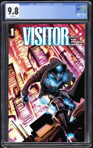 Visitor #1 Rodriguez Trade Dress CGC 9.8