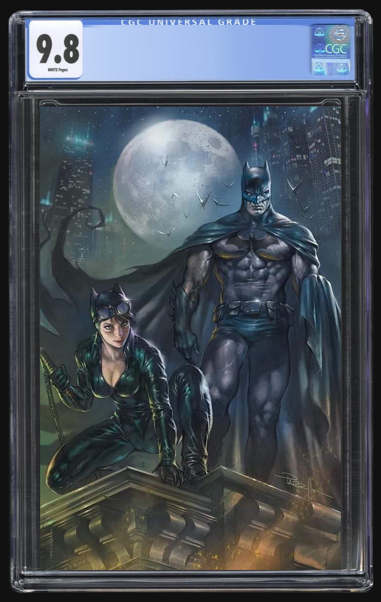 Batman 100 Parrillo Virgin CGC 9.8