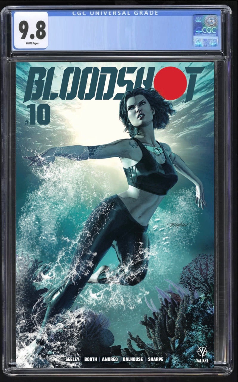 Bloodshot 10 Mayhew Trade CGC 9.8