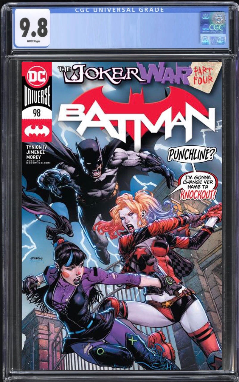 Batman 98 Cover A CGC 9.8