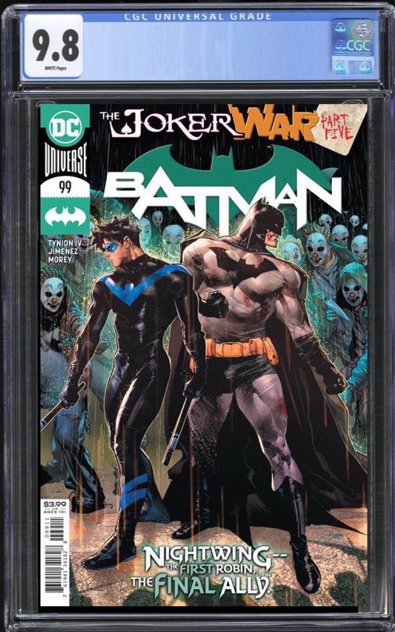 Batman 99 Cover A CGC 9.8