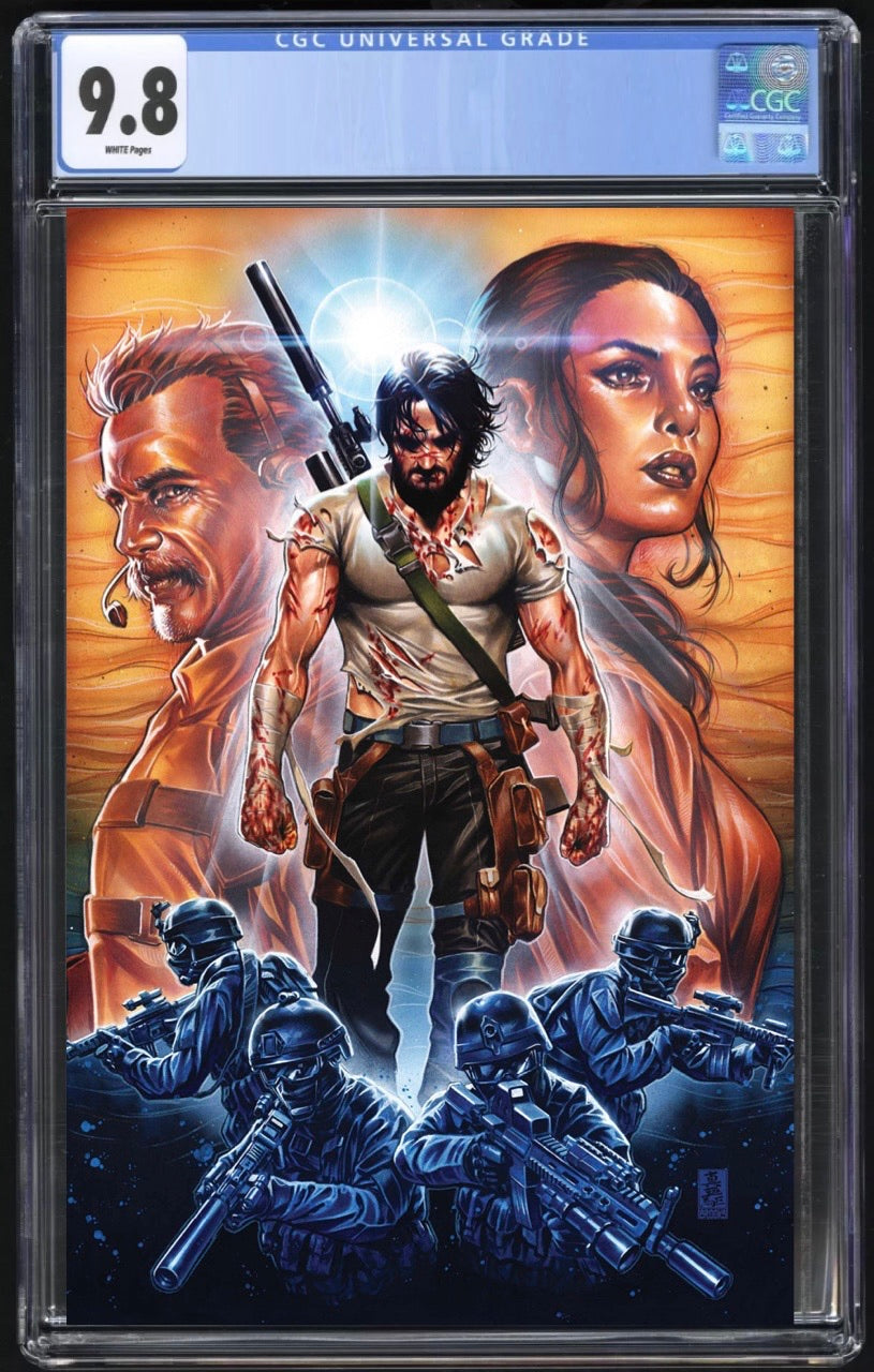 Brzrkr #1 (Berzerker) Cover J 1:50 Brooks CGC 9.8