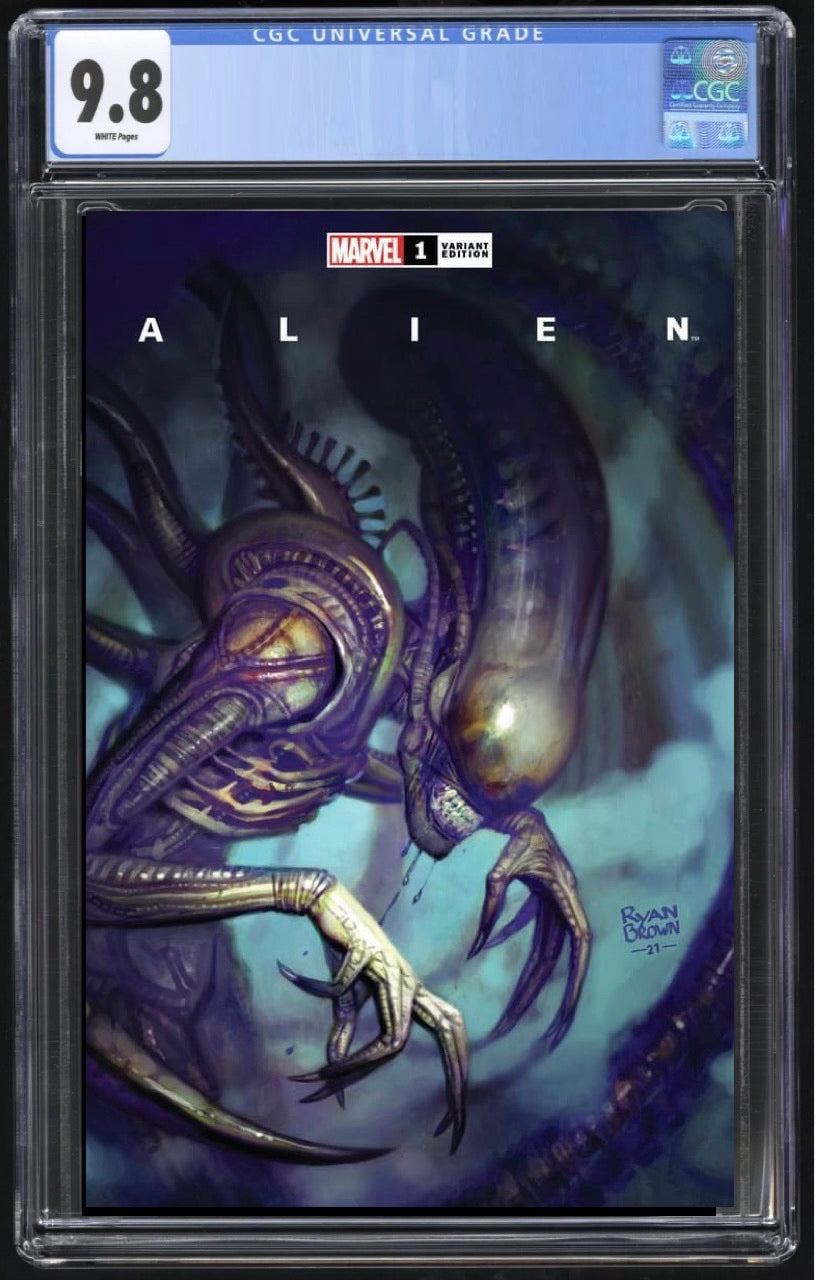 Alien #1 Ryan Brown Trade CGC 9.8