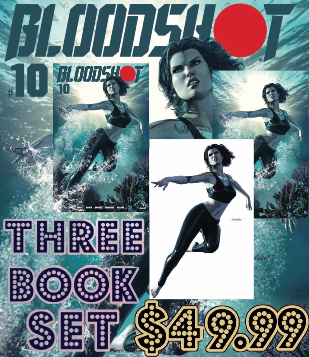 Bloodshot 10 Mayhew 3 Book Set