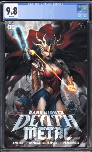 Dark Nights Death Metal 2 Lim Trade CGC 9.8