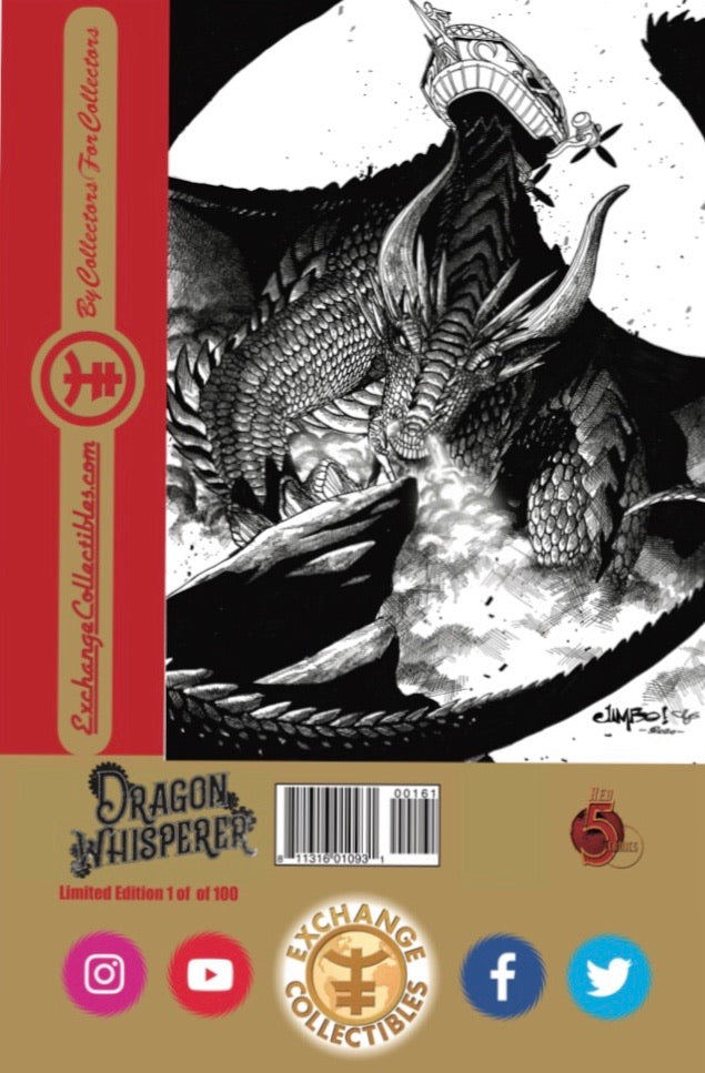 Dragon Whisperer #1 Virgin CGC 9.8