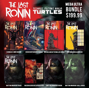 TMNT Last Ronin 8 Book Mega Bundle