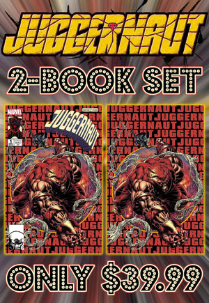 Juggernaut 1 Kyle Holtz 2 Book Set Trade & Virgin