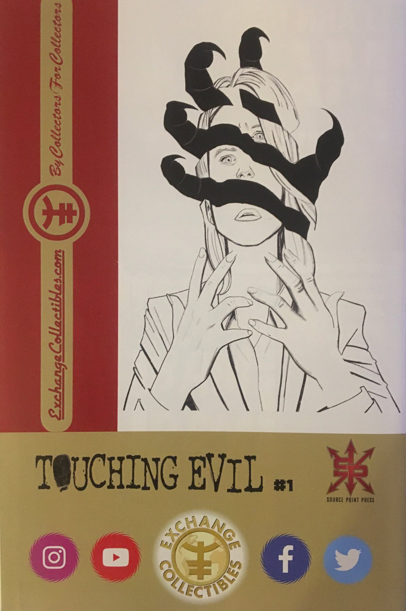 Touching Evil #1 Dougherty Virgin