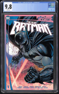 Future State the Next Batman #1 Kirkham CGC 9.8