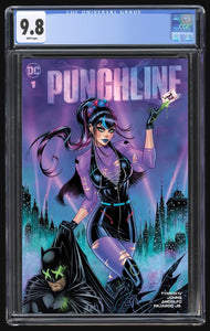 Punchline Special #1 McTeigue Trade CGC 9.8