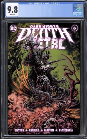 Dark Nights Death Metal #6 Kyle Holtz Trade CGC 9.8