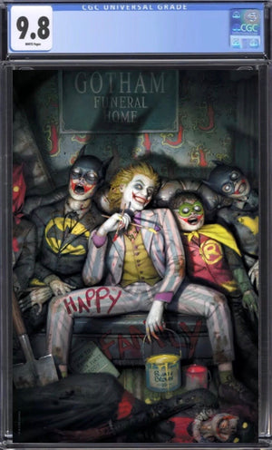 Joker 80th Anniversary Ryan Brown Virgin CGC 9.8