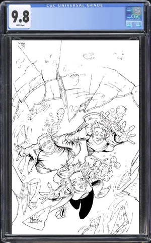 Dead End Kids 3 B&W CGC 9.8