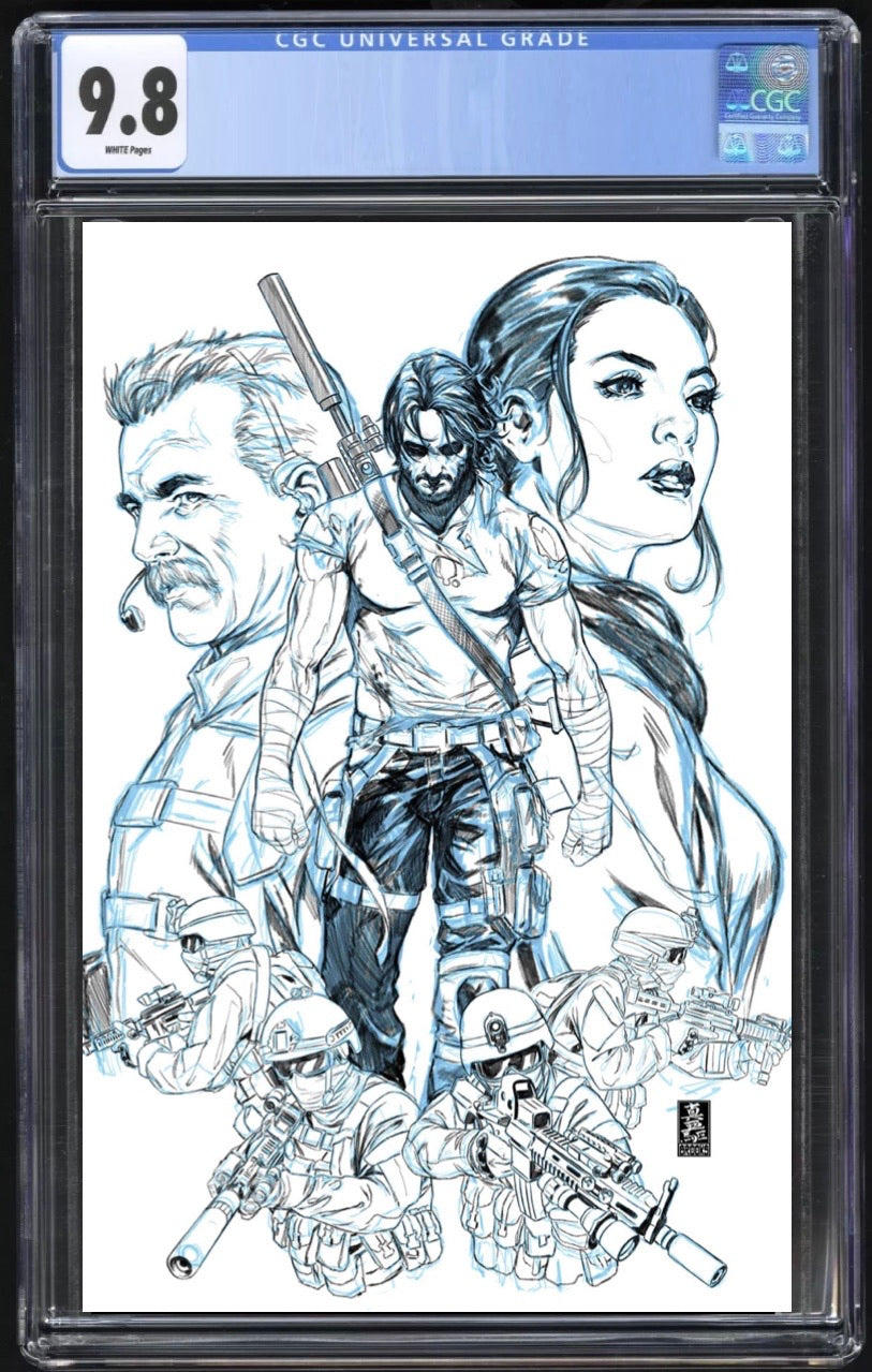 Brzrkr #1 (Berzerker) Cover N 1:500 Brooks CGC 9.8