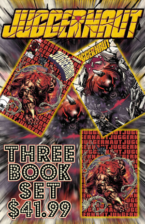 Juggernaut 1 Kyle Holtz 3 Book Set Trade, Virgin, & Cover A
