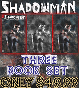 Shadowman #1 3 Zu Orzu Book Set
