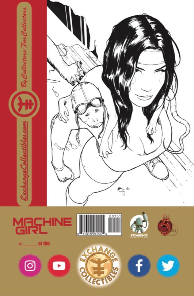 Machine Girl #1 Virgin