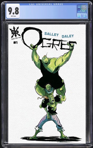 Ogres #1 Daily Trade Variant CGC 9.8
