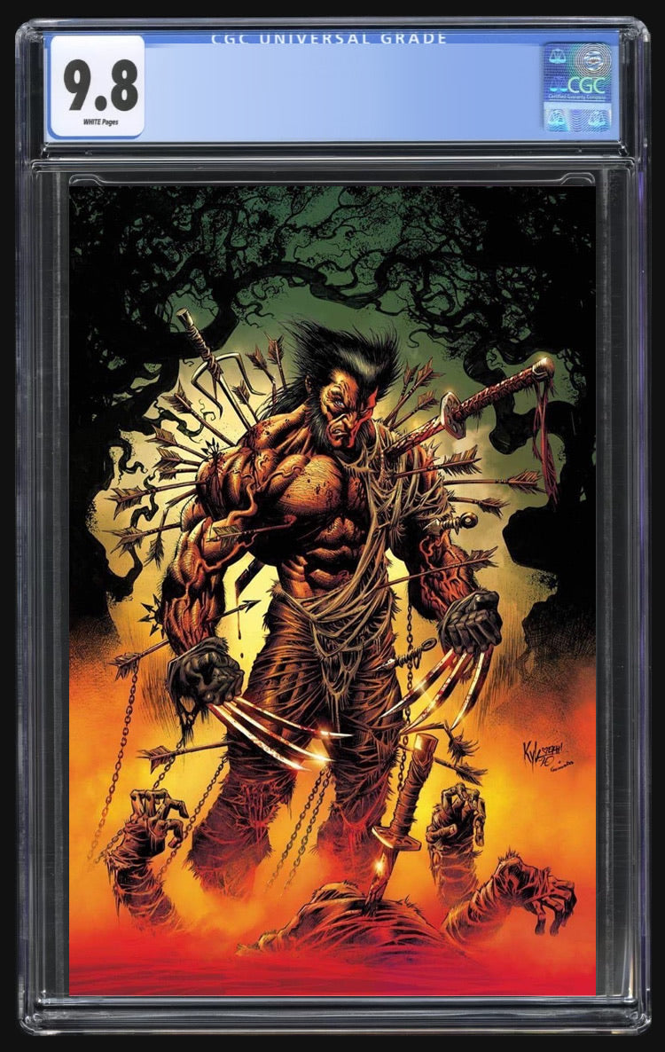 X of Swords Creation 1 Hotz Virgin  CGC 9.8