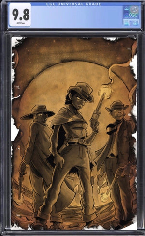 Savage Bastards #1 Sepia CGC 9.8