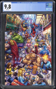 The Marvels #1 Alan Quah Virgin CGC 9.8
