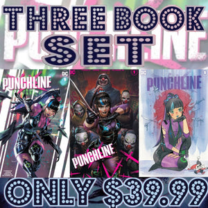 Punchline Special #1 Three Book Team Variant Set